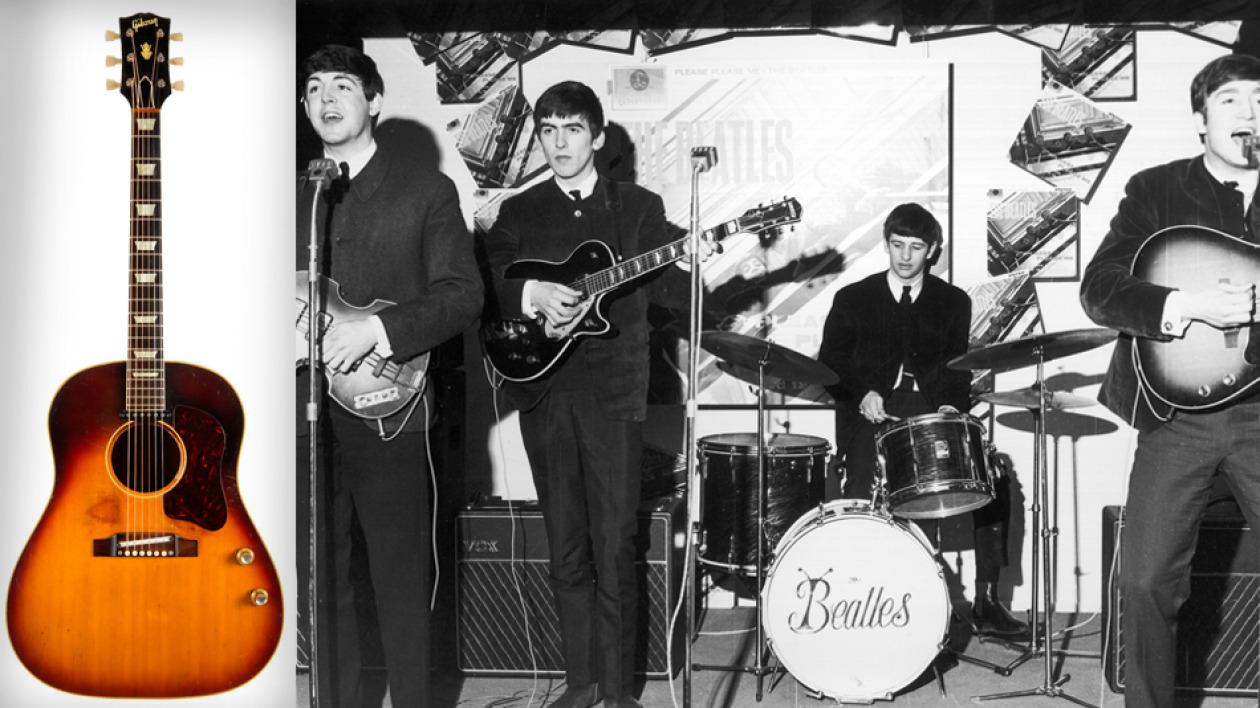 The Beatles Polska: Gitara Lennona sprzedana za rekordową sumę