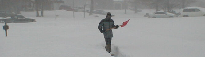 Śnieżyce paraliżują centrum USA