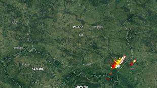 Burze w Tatrach