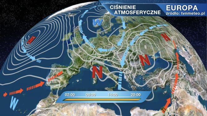 Pogodą w Polsce rządzi niż Volker