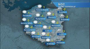 Prognoza pogody na noc 02/03.03